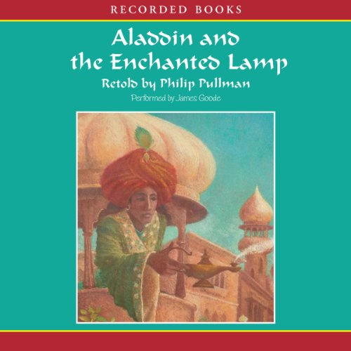 Aladdin and the Enchanted Lamp audiobook cover art