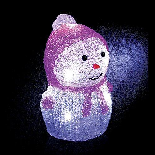 Féérie Lights & Christmas Décoration de Noël Lumineuse - 8 LED - Rose
