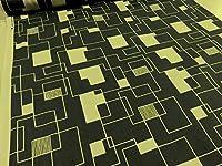 スクエアパターン グレー ツイル生地    幾何学 生地 布地 おしゃれ プリント生地 すてき 素敵 ソーイング 手芸 手づくり