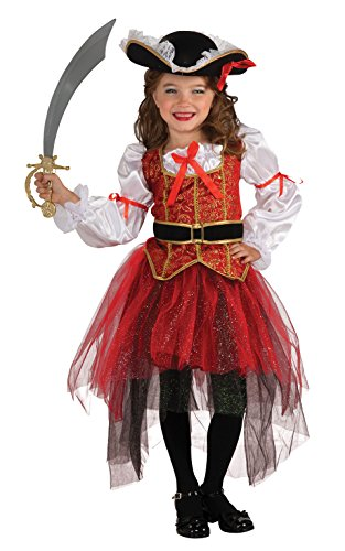 Rubies Princess of the Seas - Pirate - Niños Disfraz - Grande - 147cm