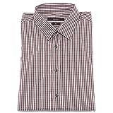 Gucci 36447 Camicia Uomo Slim Bianco Marrone Shirt Men Long Sleeve [16 (41)]