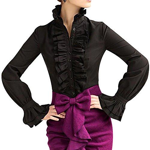 zalando zwarte blouse