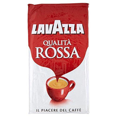 Lavazza Qualita Rossa gemahlen 4x250g Kaffee Klassiker