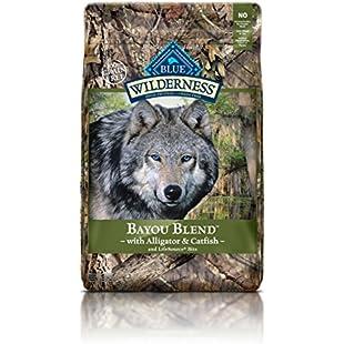 Customer reviews Wilderness Blue Buffalo Bayou Blend Dog Food, 22 lb:Qukualian
