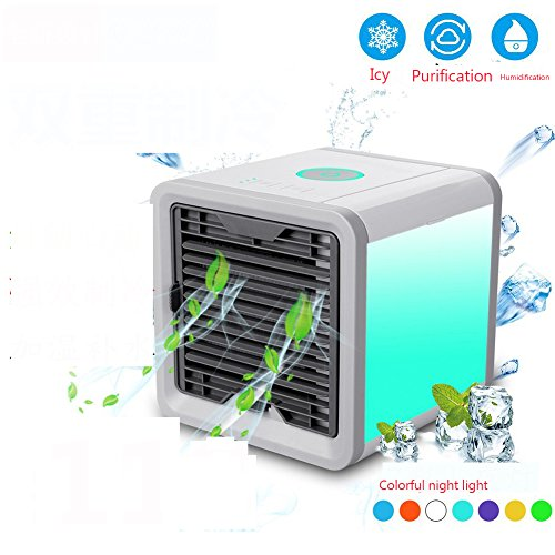 SL&LFJ Mobile Air Conditioner Cooling Fan, Single Cooler Small air Cooler Mini air