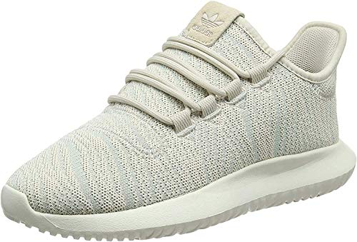 Adidas Tubular Shadow W, Zapatillas de Gimnasia para Mujer, Marrón (Clear Brown/Ash Green S18/Off White), 41 1/3 EU
