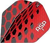 Target Nathan Aspinall The Asp Pro Ultra Red Dart Flight n.º 2 - Plumas para dardos