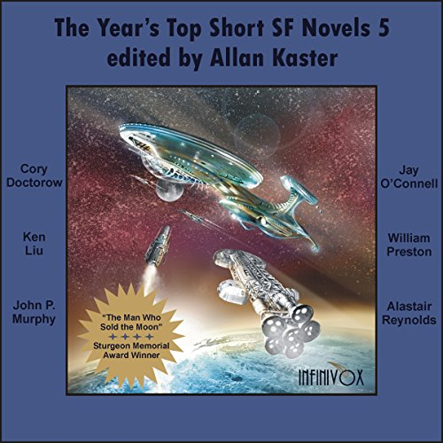 The Year's Top Short SF Novels 5 audiobook cover art