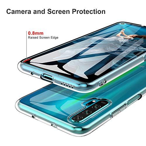 iBetter für Honor 20 Pro Hülle, Soft TPU Ultradünn Cover [Slim-Fit] [Anti-Scratch] [Shock Absorption] passt für Honor 20 Pro Smartphone - 4