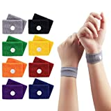 Travel Sickness Bands, ETRONG 8 Pairs Motion Sickness Bands for Adult & Children, [Natural Acupressure] Anti...