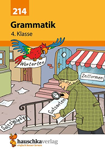 Grammatik 4. Klasse, A5- Heft
