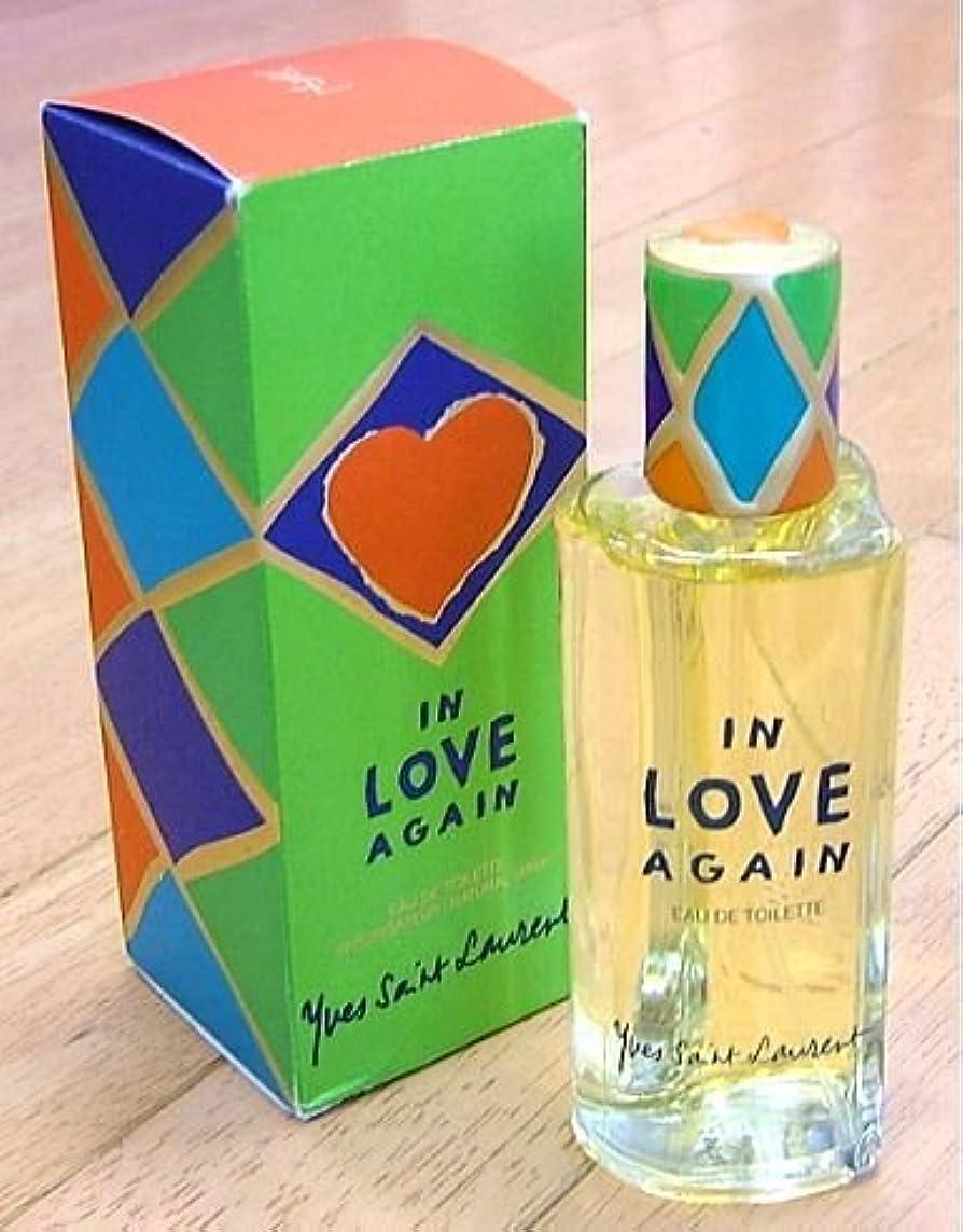 発症軍有毒な【訳有り】 イヴサンローラン インラブアゲイン EDT 100ml 1998年限定発売 IN LOVE AGAIN (並行輸入)