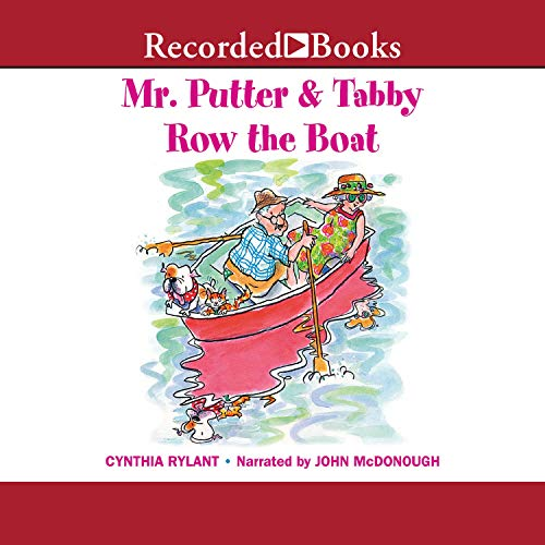 Mr. Putter and Tabby Row the Boat  By  cover art