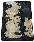Rabbit Tanaka Game of Thrones 46' X 60' Map of Westeros Fleece Throw Blanket