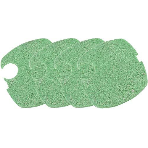 AQUANEAT Replacement Filter Pads Compatible to Canister SUNSUN HW-304B/404B/704B/3000 CF500 Phosphate Remover Pads Aquarium Fish Filter Media 4 pcs