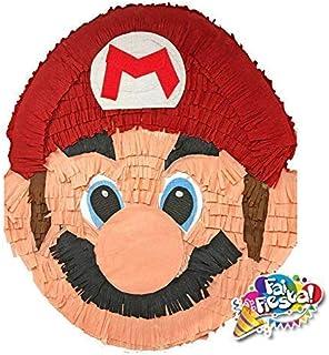 Pignatta Super Mario (pentolaccia, piñata) Gioco della pignatta per feste di compleanno per bambini. Prodotto artigianale....