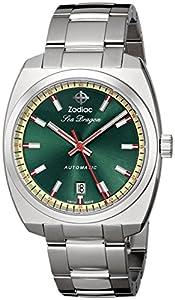 Zodiac Heritage Men's ZO9901 Sea Dragon Analog Display Swiss Automatic Silver Watch