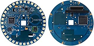 MATRIX Creator - Raspberry Pi HAT. An FPGA-driven IoT add-on Board Loaded with Sensors, 802.15.4 Radios and 8 Microphone Array