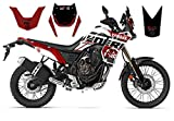 race-styles - Adesivo compatibile con Yamaha Tenere 700 Red Graphics DEKOR, Factory Decals KIT