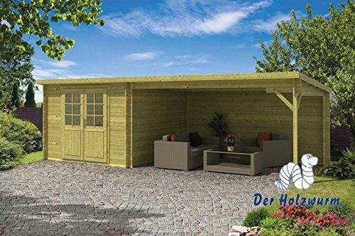 28 mm Gartenhaus Charlotta ca. 700x300 cm