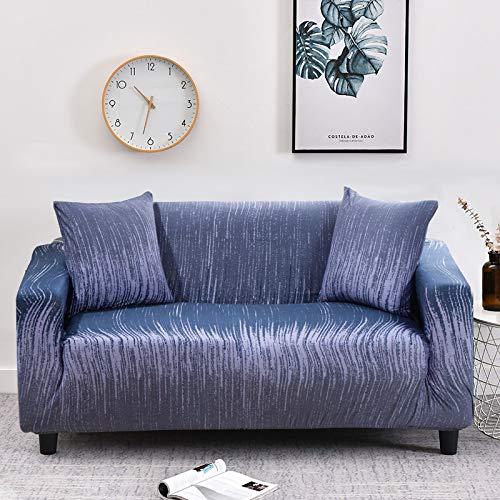 WXQY Funda de sofá geométrica elástica Funda de sofá elástica, Utilizada para la sección de la Sala de Estar, Funda de sofá, Funda de Esquina, Funda de sofá A21 1 Plaza