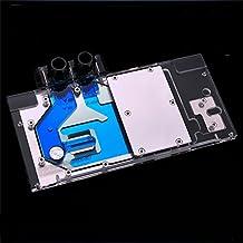 Bykski Full-Cover Computer PC Water Liquid Cooling GPU Block Cooler for ZOTAC GeForce GTX 1080Ti AMP Extreme + RGB LED Lig...