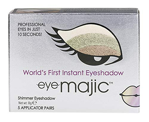Eye Majic - Instant-Lidschatten - leichtes, professionelles Make-up in 10 Sekunden - 5 Paar - Emerald Romance - 005
