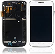 Glass/LCD/Touch Screen/Digitizer And Frame for Samsung Galaxy SII 2 T989 White