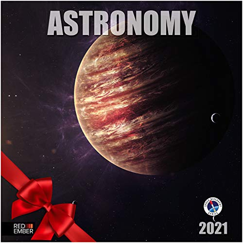 Product Image 1: Astronomy – 2021 Wall Calendars by Red Ember Press – 12″ x 24″ When Open – Thick & Sturdy Paper – Explore Outer Space