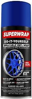 Superwrap Sprayable Vinyl Wrap for Wheels & Accessories - 11oz Spray Can/Paint - Gloss Series - Lemans Blue