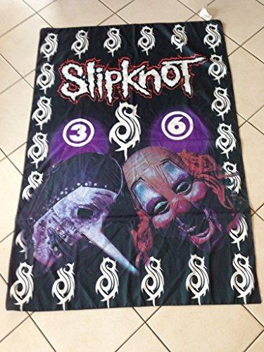 Slipknot–Flagge Stoff–135x 94cm
