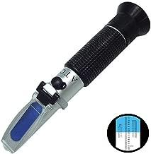 أجهزة قياس انكسار المعمل، 58-92% هوني بريكس مع صندوق تخزين، مقياس حرارة تلقائي مزدوج لاختبار محتوى السكر