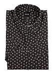 BOSS Magneton 1 Short Camisa, Negro (Black 001), XXX-Large para Hombre