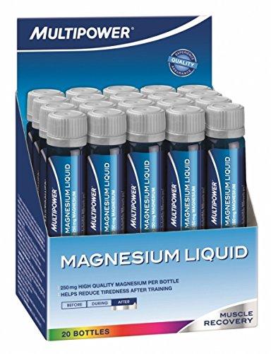 Multipower Magnesium Liquid, 20 Fläschchen á 25 ml