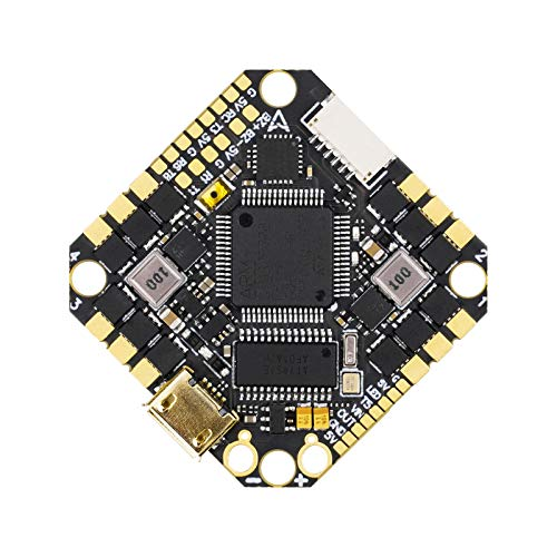 BETAFPV F722 AIO 35A 2-6S Toothpick Brushless Flight Controller BLHELI_32 35A ESC No RX with XT60U Connector for 4-5inch Toothpick Drone 2-6S FPV Brushless Motor Like 14xx 15xx 16xx 18xx 20xx Motors