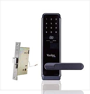 ロックマンジャパン デジタルドアロック 該当する錠前に無加工取付 取付動画あり カード・暗証番号式 LC-105