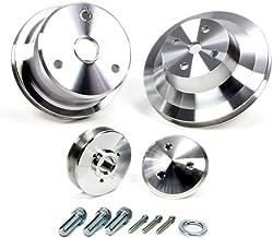 March Performance Aluminum SBC V-Belt Performance Series Pulley Kit P/N 6050