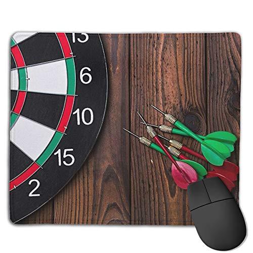 Jujupasg Mauspad Mit Verriegelungskante, Rutschfestes Mousepad Auf Gummibasis Für Laptop, Computer Und PC, 7,1