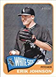 2014 Topps Heritage Factory High Numbers #H580 Erik Johnson Chicago White Sox MLB Baseball Card (RC - Rookie Card) NM-MT. rookie card picture