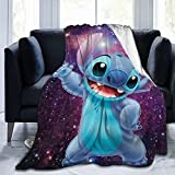 pimblm Cartoon Blanket Ultra-Soft Micro for Couch or Bed Warm Throw Blanket for Adults or Kids 60'X50'