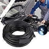 N\C ZZST Endoscopio Industrial USB, 20M 8.5HD 3 EN 1 Cámara de inspección de boroscopio automotriz Endoscopio Impermeable ZZST