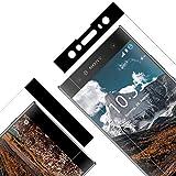 Verre Trempé pour Sony Xperia XA2 Ultra, [Lot de 2] Film Protection Ecran Vitre HD, [Couverture...