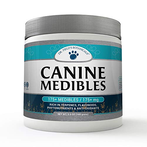 Dr. Field s Botanicals   Canine Medibles Hemp Dog Chews   Perfect Aid for Stress Relief  Anxiety  Hip and Joint Pain  Excessive Barking  Storms and More   Veterinarian Approved Formula