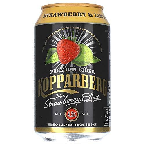 Kopparberg Strawberry & Lime 4,5% 12 x 0,33 ltr