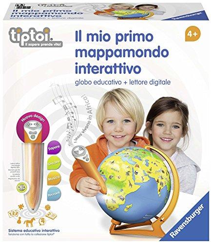 Ravensburger Italy-Il Mio Primo Mappamondo Interattivo,...