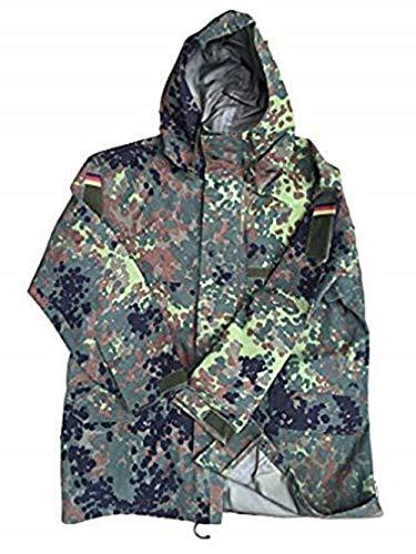 Parka, Deutsches Militär-Design, Flecktarn, Goretex, Gr. L Gr. X-Large, mehrfarbig