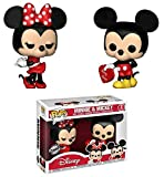 Set 2 Figuras Pop! Disney Valentine Mickey & Minnie Exclusive
