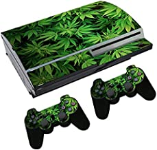green ps3 console