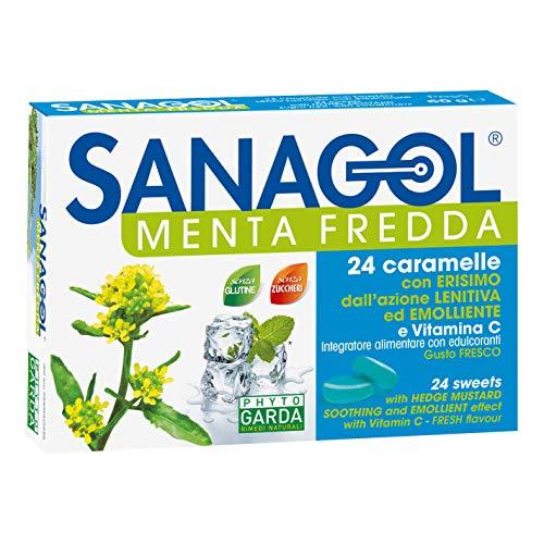 Sanagol Menta Fredda Integratore 24 Caramelle