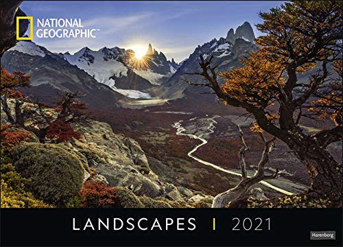 Landscapes Edition National Geographic Kalender 2021
